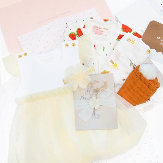 *Bestseller* Baby Girl Gift Set - Floral Botanic