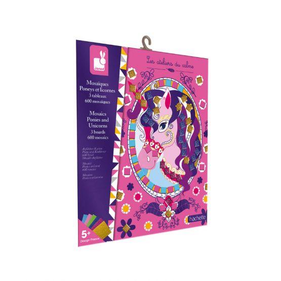 *New* Foam Mosaics Ponies and Unicorns by Janod