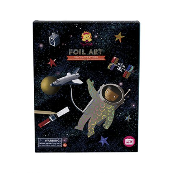 *New* Foil Art - Space Adventures by Tiger Tribe