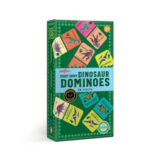*New* Giant Shiny Dinosaur Dominoes by eeBoo
