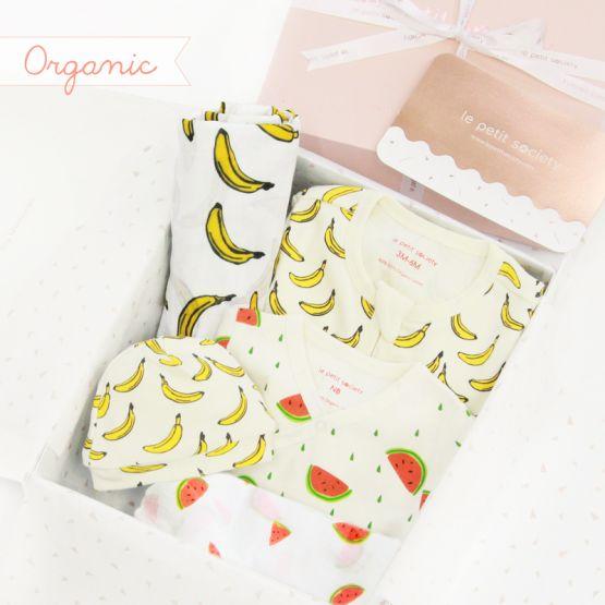 *Bestseller* Baby Organic Gift Set - Tropical Wave