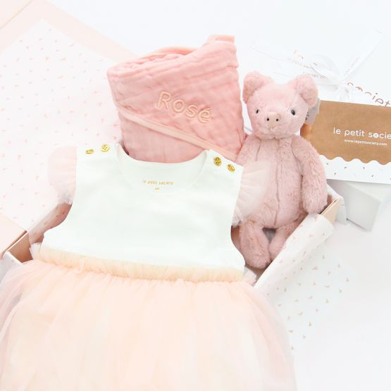 *Bestseller* Baby Girl Gift Set - Dash of Pink