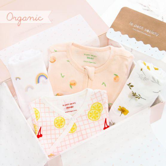 *Bestseller* Baby Organic Gift Set - Sweet Florals