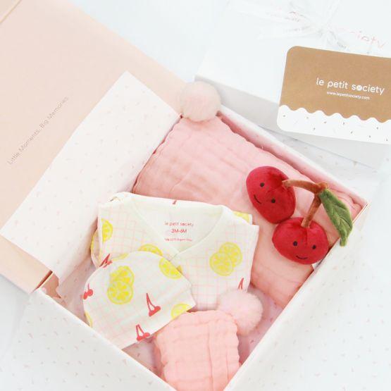 *Bestseller* Baby Girl Gift Set - Lemon Blush