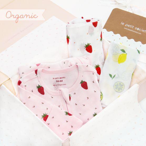 *Bestseller* Baby Organic Gift Set - Pink Lemonade