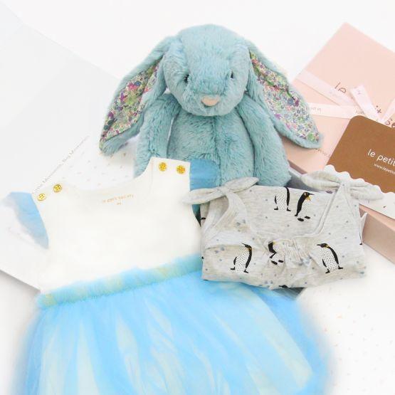 *Bestseller* Baby Girl Gift Set - Blue Sparkles