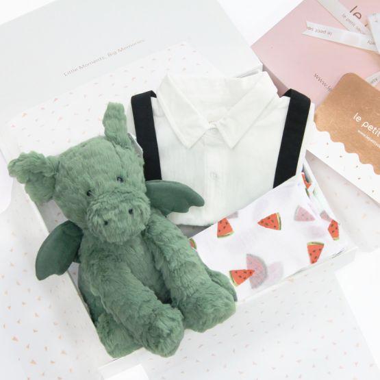 *Bestseller* Baby Boy Gift Set - Dragon Tales