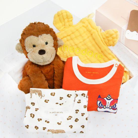 *Bestseller* Baby Boy Gift Set - Little Paws
