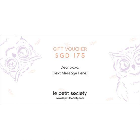 Gift Voucher SGD175 Value