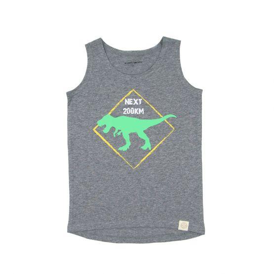 Dino T-Rex Grey Tank