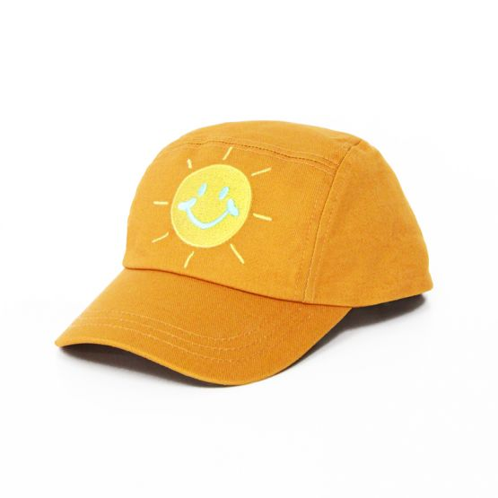 *New* Made For Play - Kids Smiley Cap in Brown