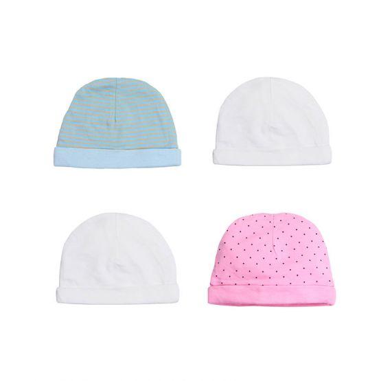 Set of 4 Baby Hats
