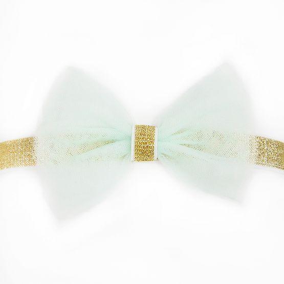 Bow Headband in Mint