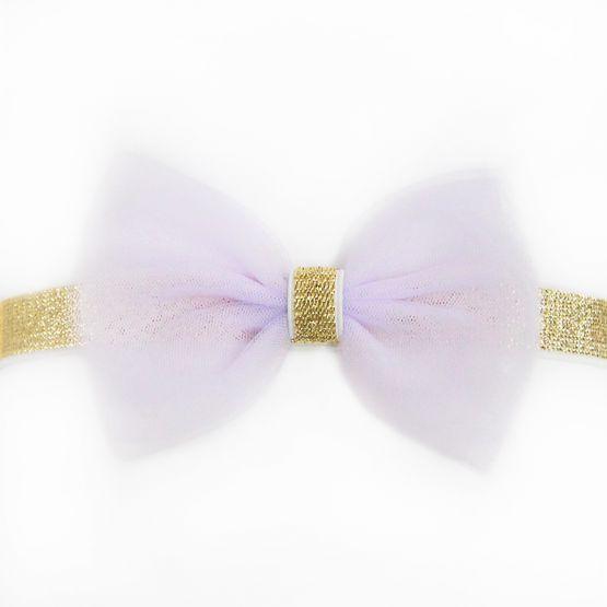 Bow Headband in Lilac
