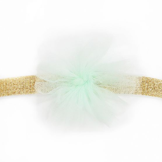 Flower Headband in Mint