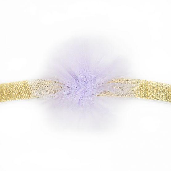 Flower Headband in Lilac
