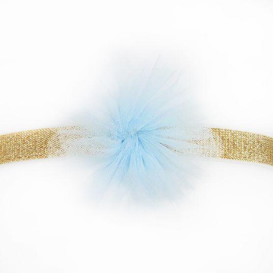 Flower Headband in Blue