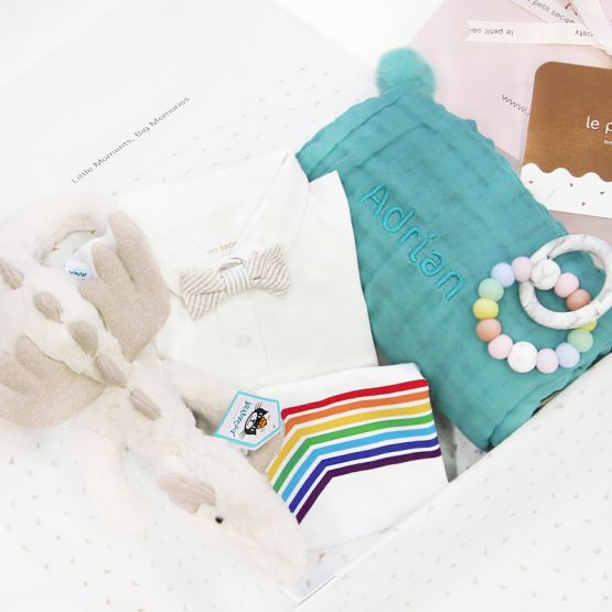 *Bestseller* Baby Boy Gift Set - Rainbow Dragon