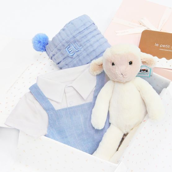 *Bestseller* Baby Boy Gift Set - Baby's Firsts