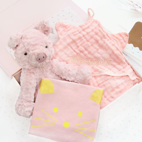 *Bestseller* Baby Girl Gift Set -  Pop of Pink