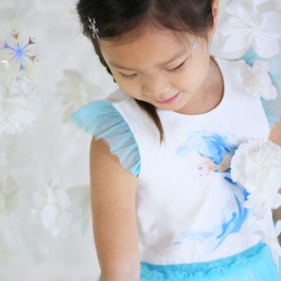 *Disney Frozen 2* Elsa Bubble Dress in Turquoise