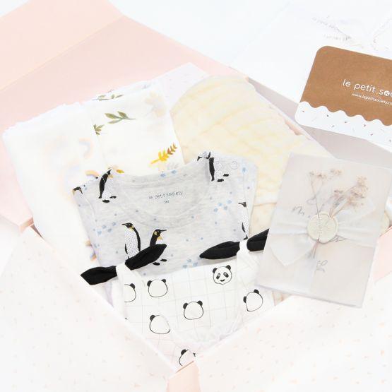 *Bestseller* Baby Girl Gift Set - Ivory Floral