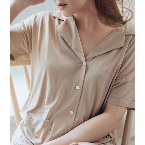Loungewear - Personalisable Ladies Set in Mocha