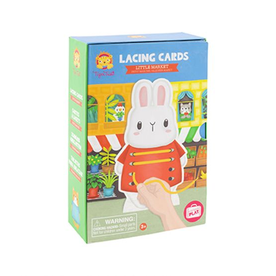 *New* Lacing Cards - Little Market by Tiger Tribe