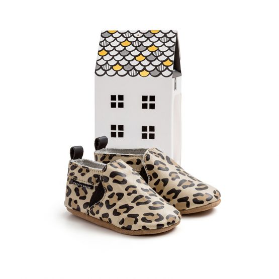 Baby Slip-On Shoes - Leopard by Pretty Brave