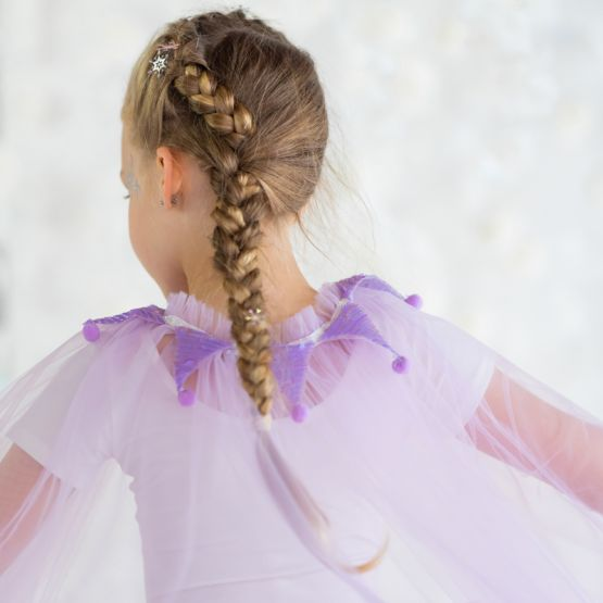 *Disney Frozen 2* Long Cape in Purple