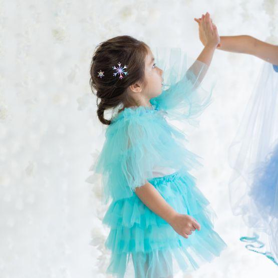 *Disney Frozen 2* Short Cape in Turquoise