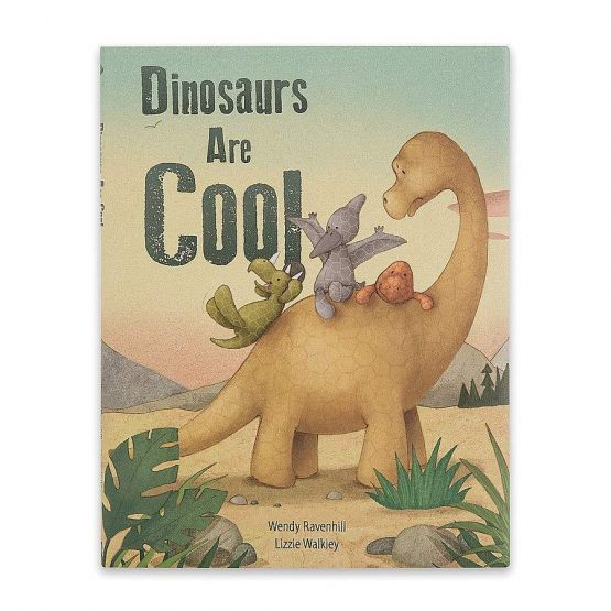 Dinosaurs Are Cool Book by Jellycat