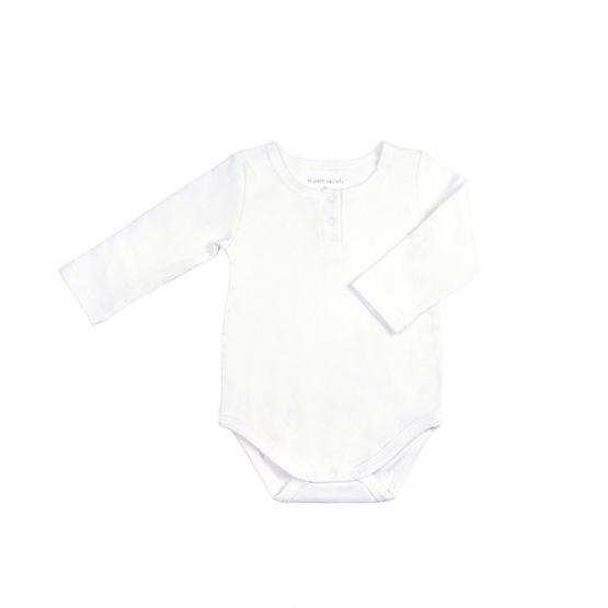 *Bestseller* Personalisable Long Sleeves White Baby Onesie