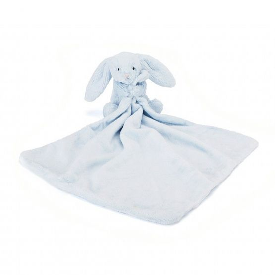 Personalisable Bashful Blue Bunny Soother by Jellycat