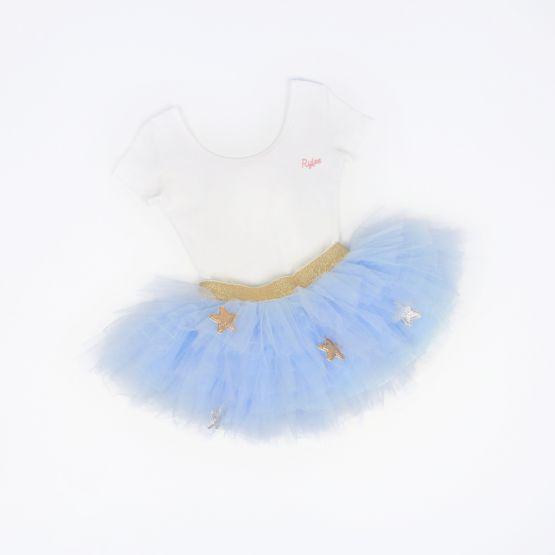 Ballerina Series - Personalisable Leotard in White