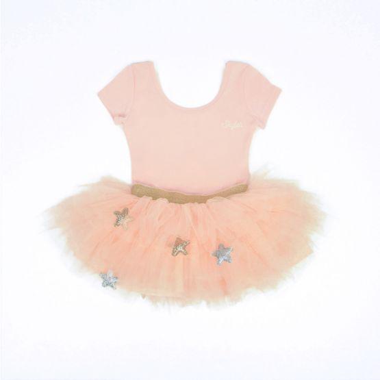 Ballerina Series - Cascading Tulle Skirt in Pink