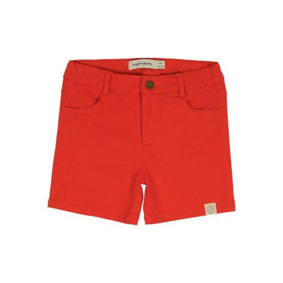 Crane Series - Boys Red Bermuda