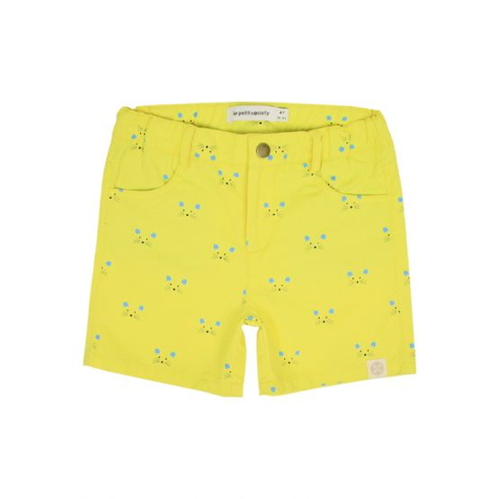 Mouse Series - Boys Bermuda with Print