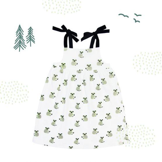 Girls Dress in Koala Print