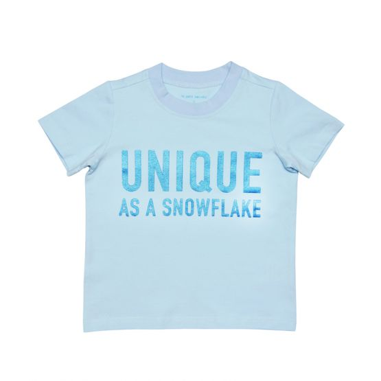 "Kids ""Unique As A Snowflake"" Tee"