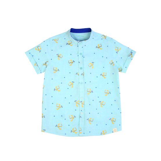 Dragon Series - Boys Mint Shirt