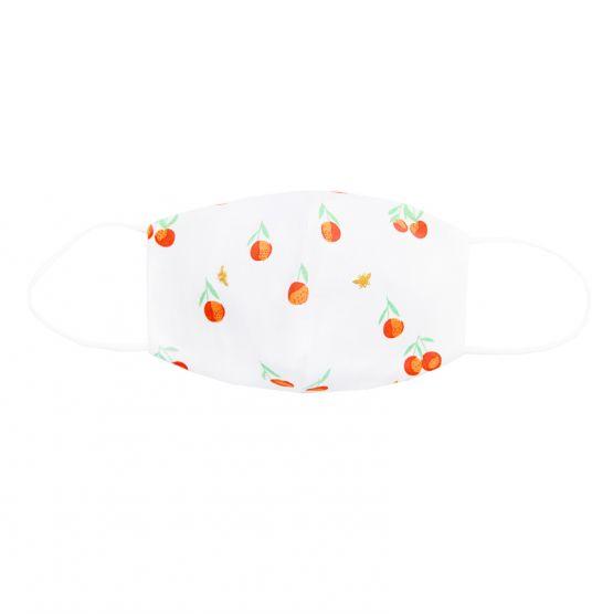 Personalisable Reusable Kids & Adult Mask in Mandarin Orange Print