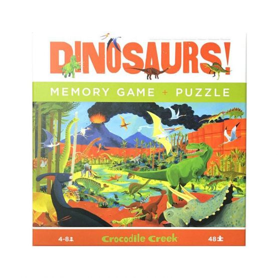 *New* Memory Game & Puzzle - Dinosaurs by Crocodile Creek
