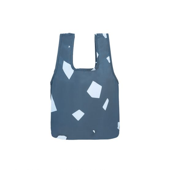 *New* Mini Reusable Bag in Navy Coast by The Paper Bunny