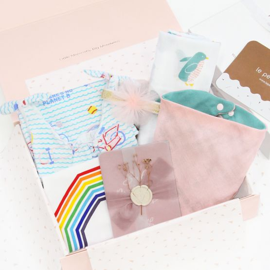 *Bestseller* Baby Girl Gift Set - Ocean Pink
