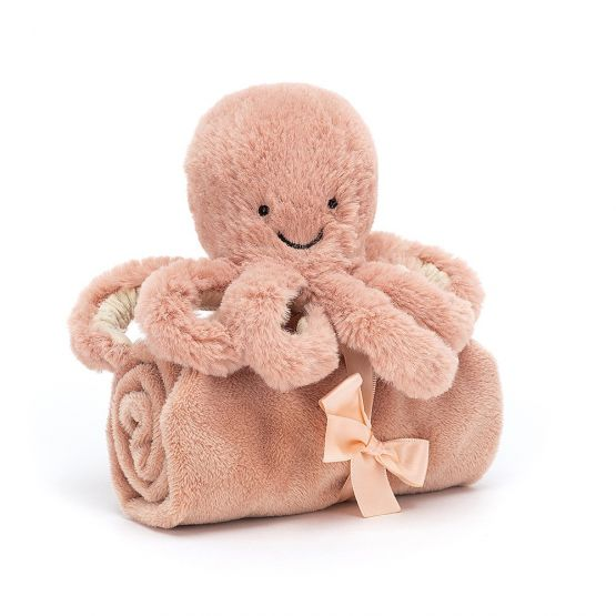 Personalisable Odell Octopus Soother by Jellycat