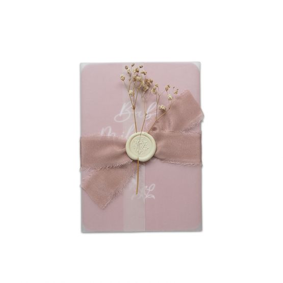 Baby Milestone Diary Cards - Pink by The Letter V Stationer