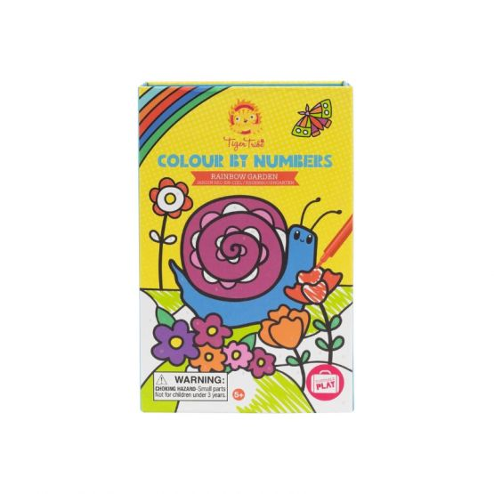 *New* Colour by Numbers - Rainbow Garden by Tiger Tribe
