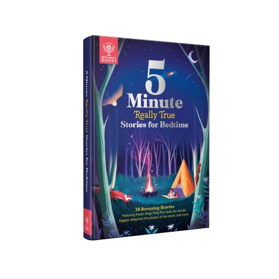 *New* Britannica: 5-Minute Really True Stories for Bedtime by Monster Bookery