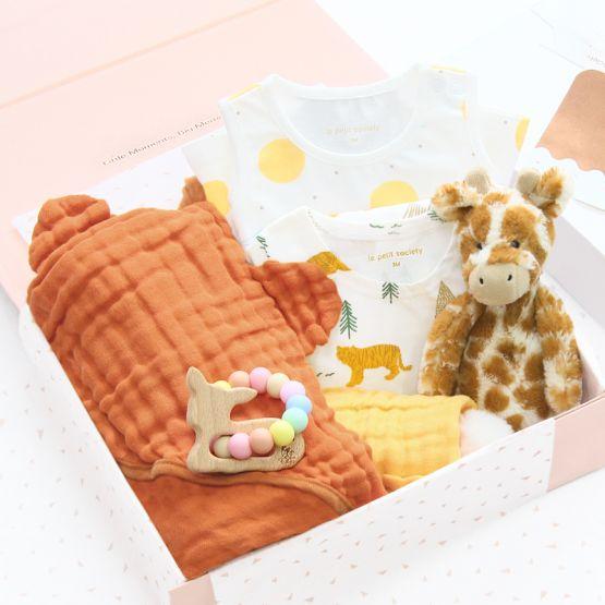 *Bestseller* Baby Girl Gift Set - Safari Girl